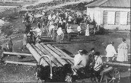 Прокопьевская ярмарка в Иркутске. Фото кон. XIX в.