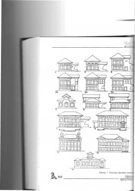 Таблица 1. Типология фасадных решений