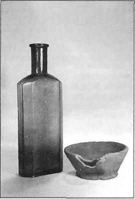 Бытовые изделия из стекла и глины