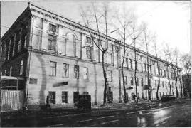 Здание бывших Участнических казарм. Фото. 2004 г.