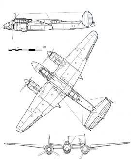 Ту-2. Техническая схема