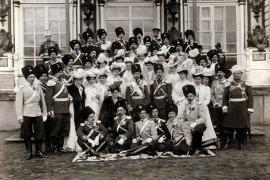 В день праздника лейб-гвардии Сводно-Казачьего полка 6 апреля 1907. Источник: www.sammler.ru