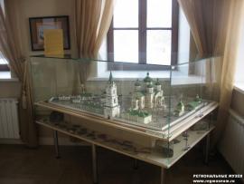 Макет Вознесенского монастыря