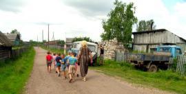 Ребятишки из Бирюсинского детского дома