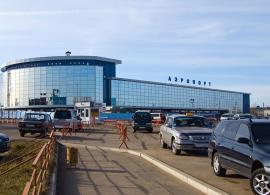 """Здание вокзала международного аэропорта """"Иркутск"""""""