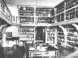 Интерьер старого помещения библиотеки