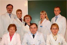 Н. П. Кузнецова с коллегами