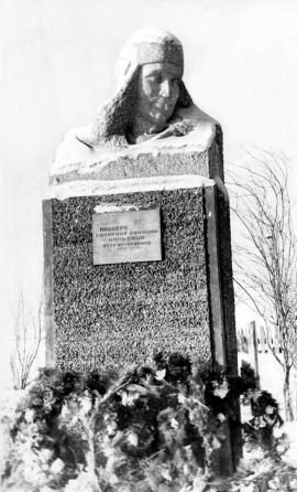 Новый памятник О.А. Кальвице