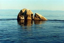 Шама́н-ка́мень — заповедная скала возле озера Байкал, у истока реки Ангара. Является памятником природы Прибайкальского национального парка.