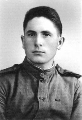 Степан Карнаухов. Май 1945