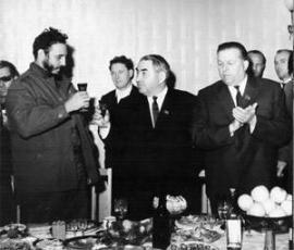 Фиделю Кастро в Брастке устроили теплый прием