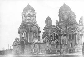 Казанский кафедральный собор был взорван в 1932 году