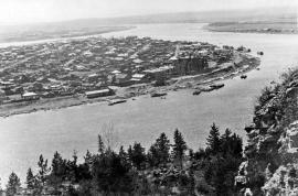 Киренск в 1950-х годах