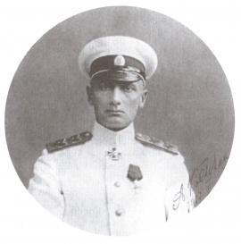 Вице-адмирал А. В. Колчак — командующий Черноморским флотом. Январь 1917 года