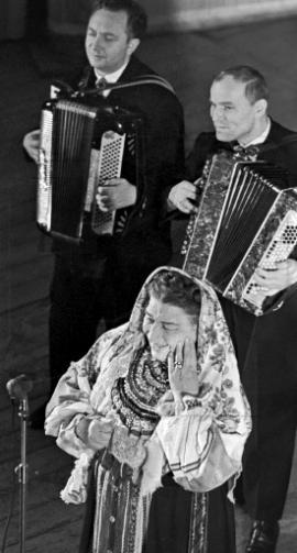 Лидия Русланова в 1963 году