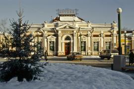 Здание аптеки Писаревского (современный адрес ул. Дзержинского, 34)