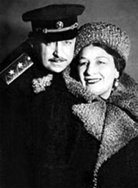 Владимир Крюков и Лидия Русланова