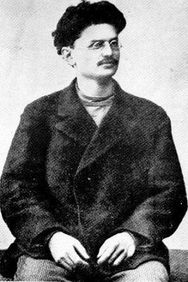 Троцкий в ссылке в Иркутской губернии. 1900 год