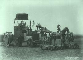 Колесница Майдари. Буддийский праздник. 1890-е годы. Из собрания Библиотеки конгресса США