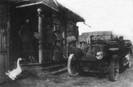 Служебное здание первого аэродрома