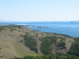Вид на Малое Море в районе р. Сарма.