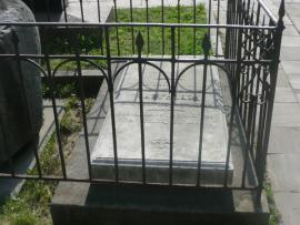 Могила Н.Р. Ребиндера на Новодевичьем кладбище Москвы