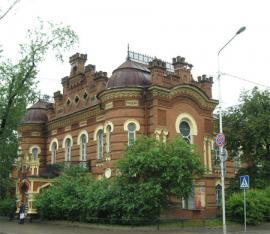 Здание отдела историии Иркутского областного краеведческого музея