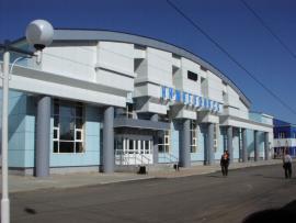 Вокзал на станции Нижнеудинск