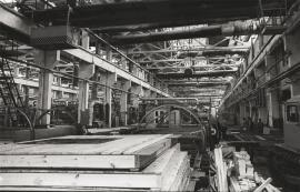 Завод зданий контейнерного типа в Нижнеудинске. Фото 1970-1980-х годов