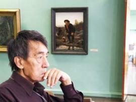На выставке из собрания Третьяковской галереи.