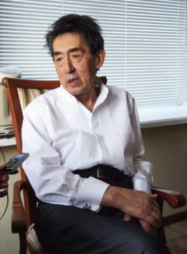 Юрий  Ножиков в день своего 75-летнего юбилея. Он очень болел, но старался никому этого не показывать.