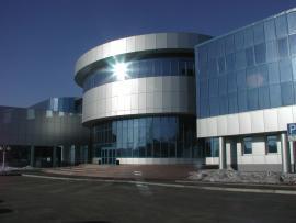 Административный корпус Иркутского авиационного завода
