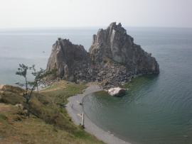 Скала Шаманка на Малом Море, Ольхон