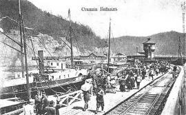 Станция Байкал на старинной открытке