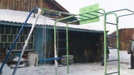 Детская площадка в Черемховском сельском поселении