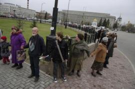 «Вместе за чистый Байкал!» - под таким лозунгом прошел сегодня митинг в Иркутске. Около тысячи человек собрались на сквере им. Кирова, чтобы выразить свою обеспокоенность по поводу экологических проблем озера Байкал.