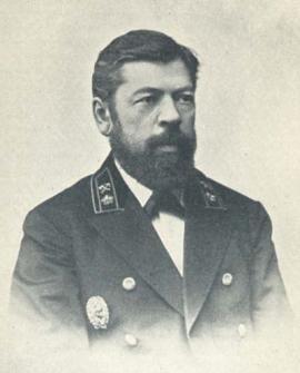 А.Н. Пушечников, руководитель строительства Забайкальской железной дороги