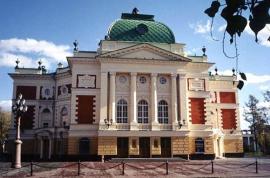 В. А. Шретер. Театр им. Охлопкова в Иркутске (1894—1897 гг.)