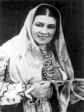 Лидия Русланова - исполнительница русских народных песен