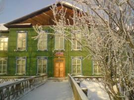 Школа в селе Барлук
