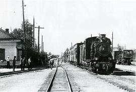 Бодайбинская железная дорога на старинной открытке
