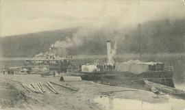 Село Усть-Кут. Пристань. До 1917