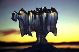 Байкальский наплесковый лёд