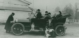 Автомобиль, ошибочно считающийся первым в Иркутске