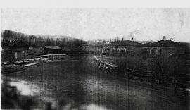 Почтовая станция в селе Моты. Конец XIX - начало ХХ вв. ИОКМ