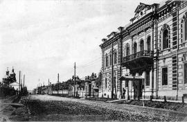 Здание на Большой улице, в котором находился клуб общества приказчиков