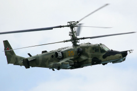 """Ка-50 - """"Черная акула"""" - стал лидером среди армейских боевых вертолетов."""
