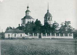 И.С. Бечевин жил в приходе Тихвинской церкви, построенной на его средства