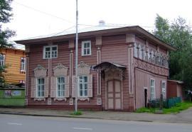 Дом Цукасова в Иркутске, где выступил Л. Троцкий. Современное фото