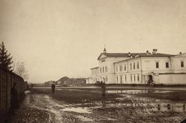 Иркутский тюремный замок. Фото 1900-х